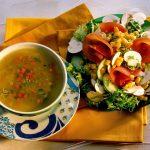 Обед — первое и второе блюдо