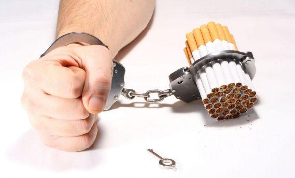 Обычная сигарета