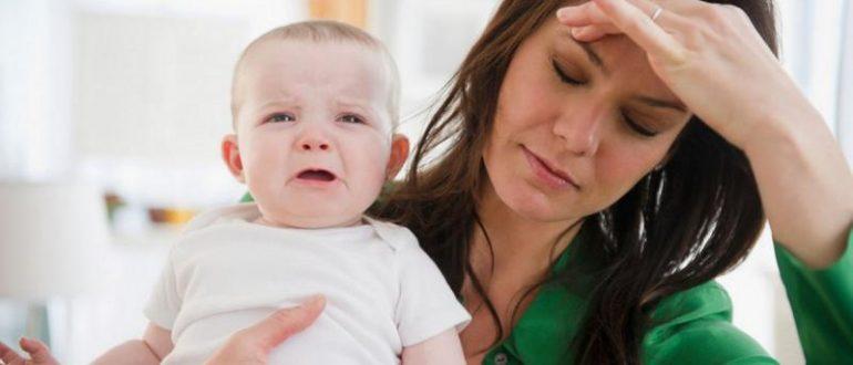 Болезнь у кормящей матери