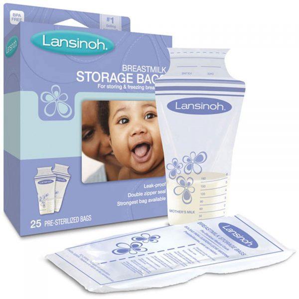 Пакеты для молока Lansinoh