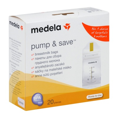 Пакеты для молока Medela Pump and Save