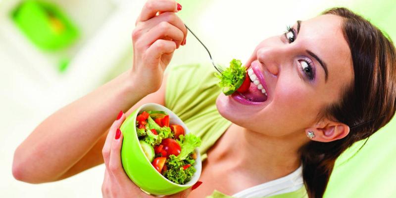Вкусные салатики для кормящих мам