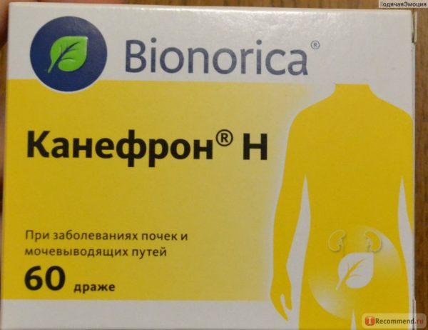 Лекарство от цистита Канефрон