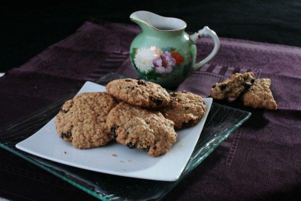Овсяное печенье с добавками