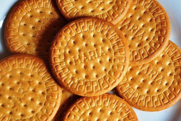 Печенье крупным планом