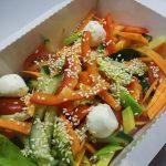 Овощи с кунжутом
