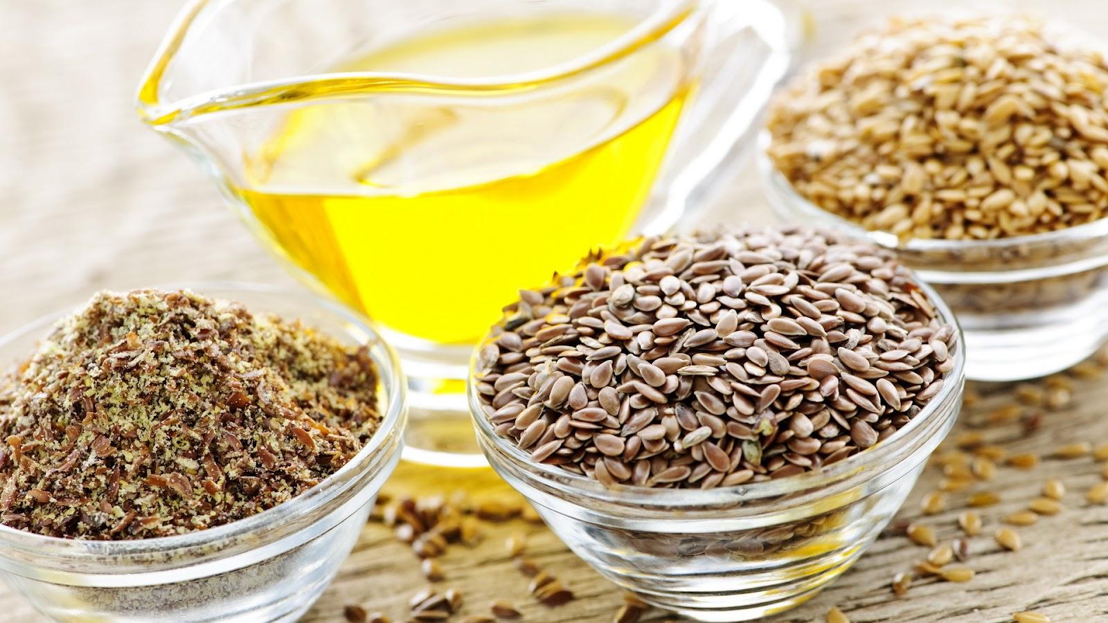 Семена льна в рационе кормящей мамы: польза и вред