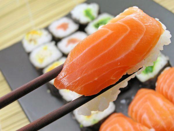 Суши с рыбой