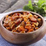 Жаркое с овощами и фасолью
