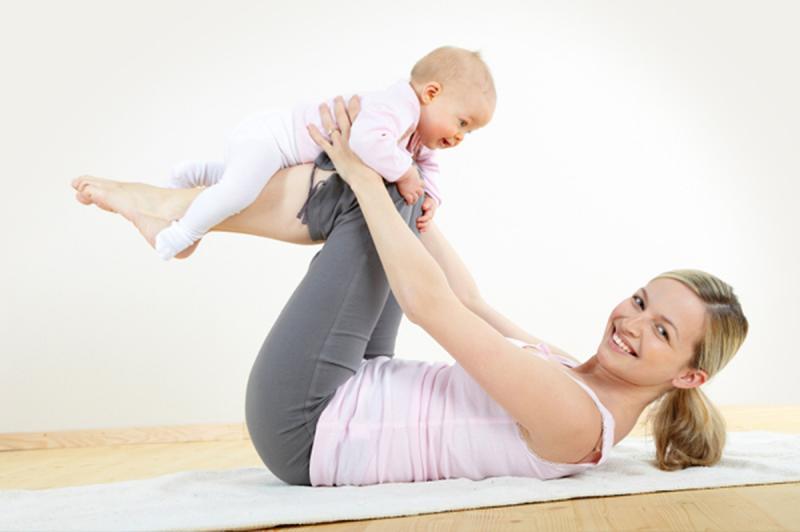 Самые эффективные упражнения для похудения после родов