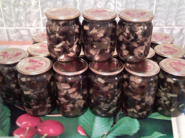 консервы из грибов