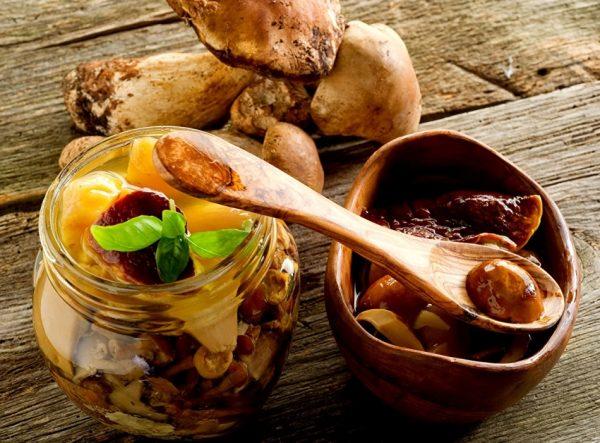маринованные и солёные грибы