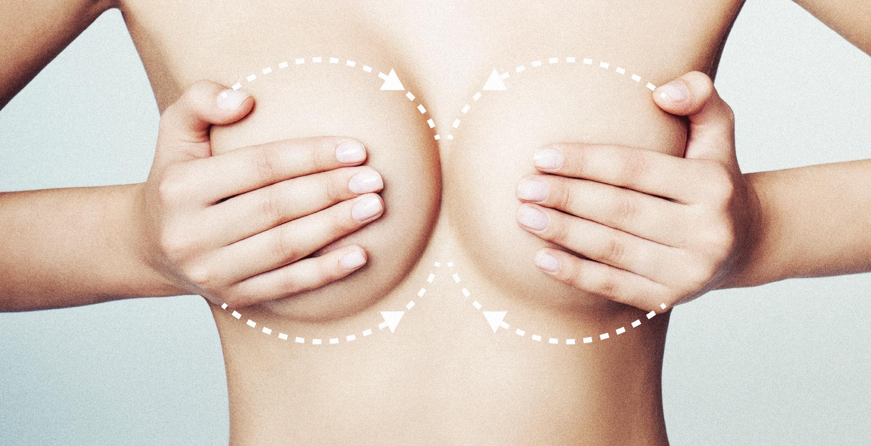 Массаж груди при застое молока: первая помощь самой себе