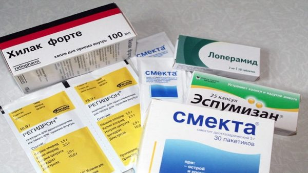Препараты для лечения пищевого отравления