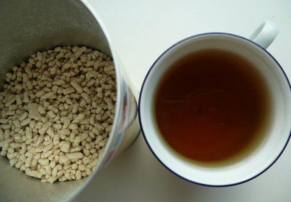Приготовления чая Хипп для лактации