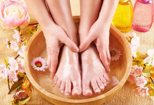 Применение контрастных ванночек для ног