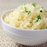 Варёный пропареный рис