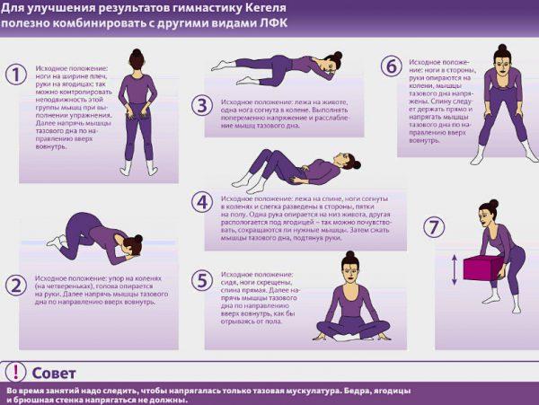 Сопутствующие упражнения