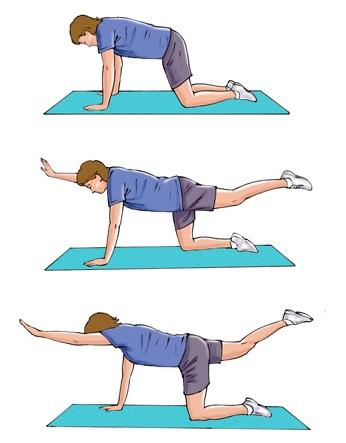 Упражнения для сокращения матки после кесарева 40