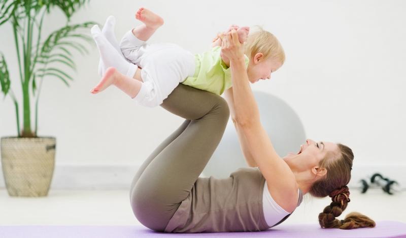 Как вернуть красивую фигуру после рождения ребёнка
