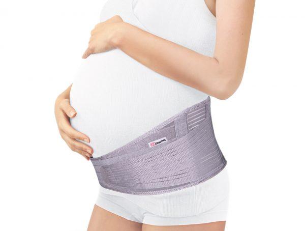 Дородовой бандаж на беременной женщине