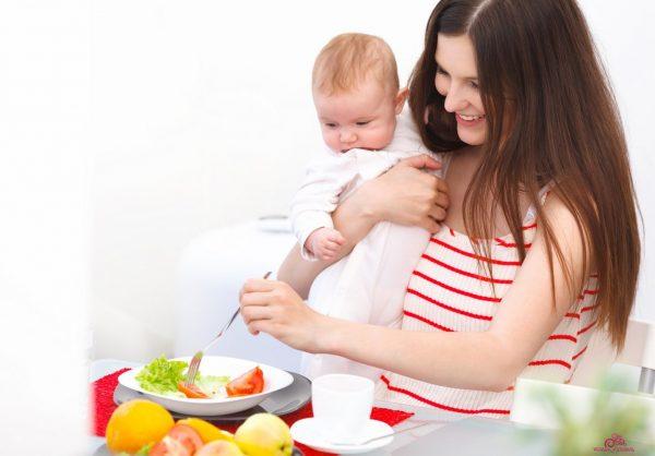 Мама с ребёнком на ПП