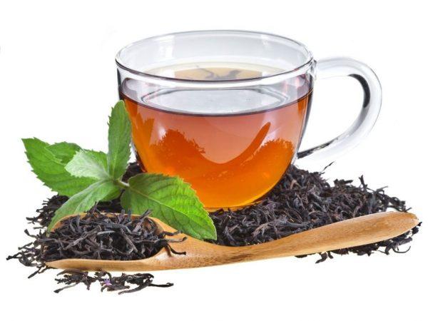 Некрепкий чёрный чай