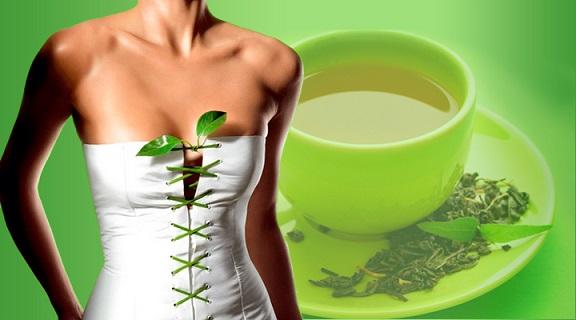 Зелёный чай способствует похудению