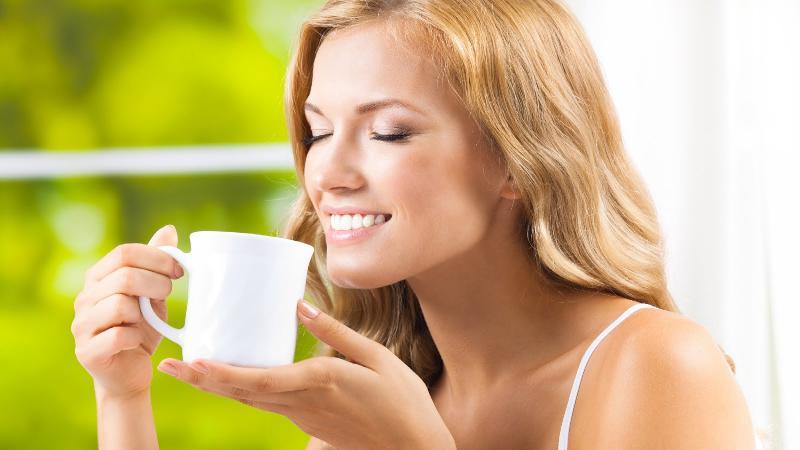 Зелёный чай при грудном вскармливании: польза и вред
