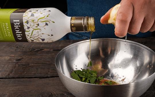 Льняное масло для блюд