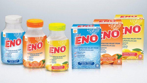 Три флакона и три коробки препарата ЕНО