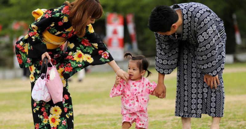 японцы семья