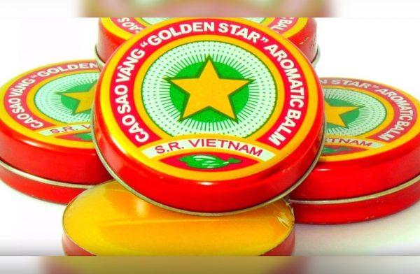 баночка бальзама «Золотая звезда»