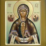 Икона Богородицы Слово плоть бысть